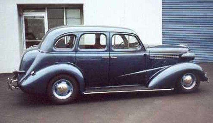 1938 chevy 4 door sedan