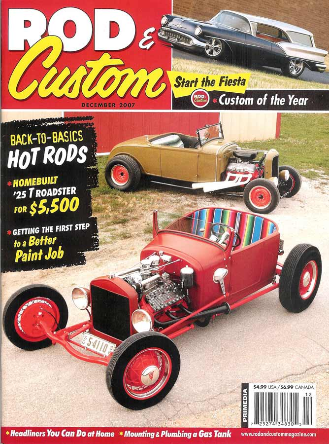 December 2007 Rod & Custom Magazine